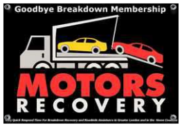 Vehicle Breakdown Recovery East London